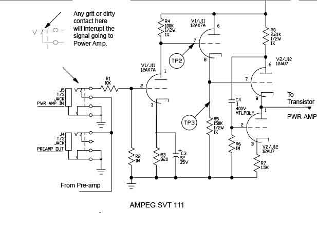 ampeg Svt 4 Pro Schematic on