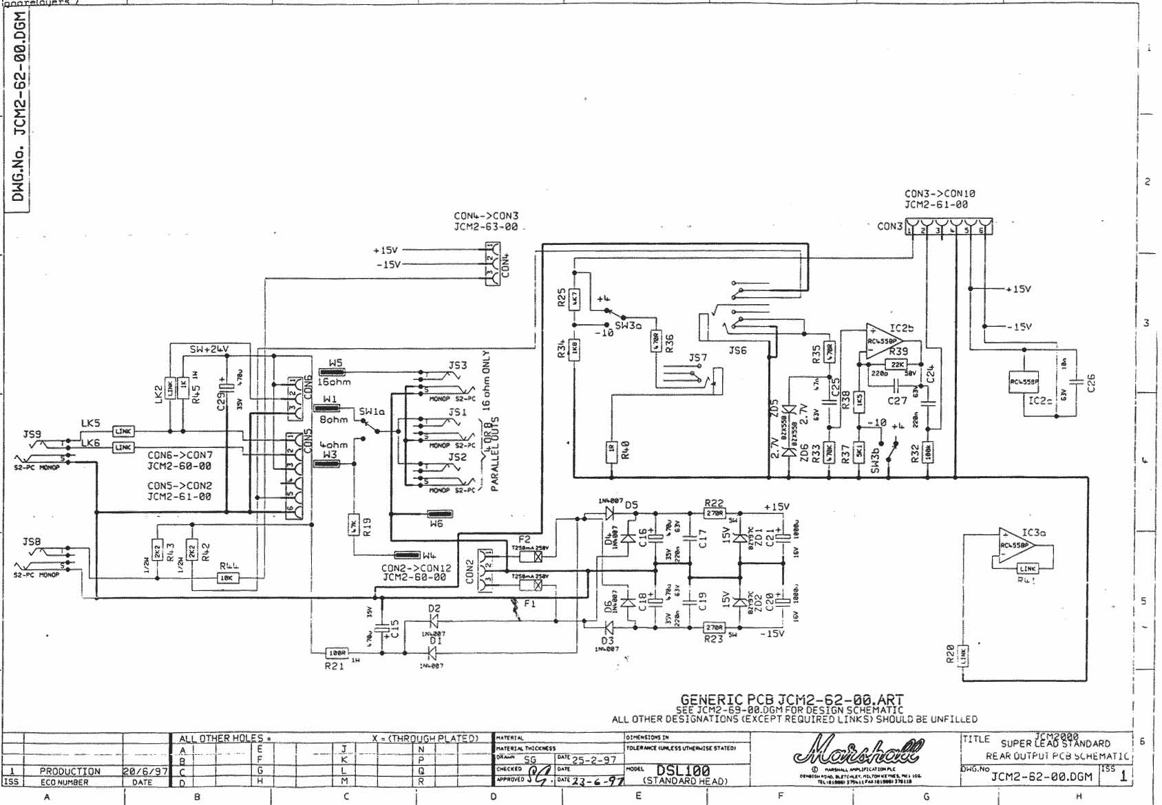 Marshall Dsl 100 No Reverb At T Work Wiring Diagram Click Image For Larger Version Name Jcm2000 100w Dsl1002 Views
