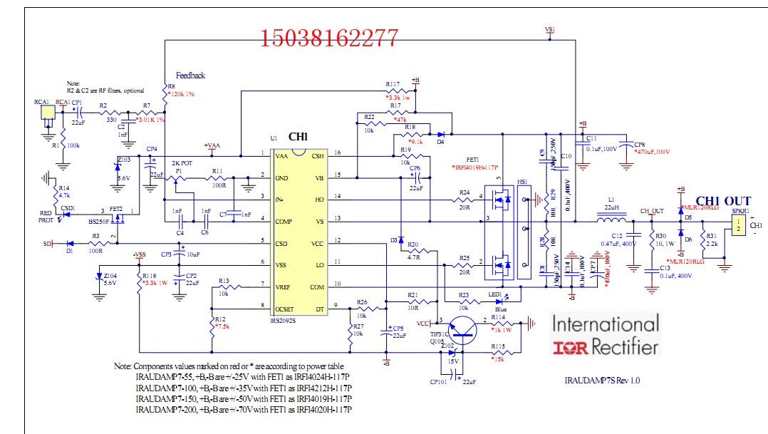 Click image for larger version.  Name:IRF Amplifier.jpg Views:6238 Size:139.7 KB ID:28106