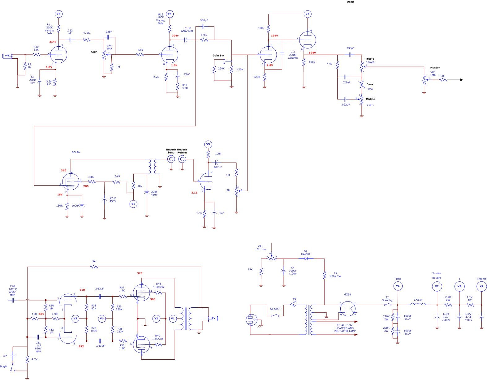 Dumble Schematic | Wiring Library