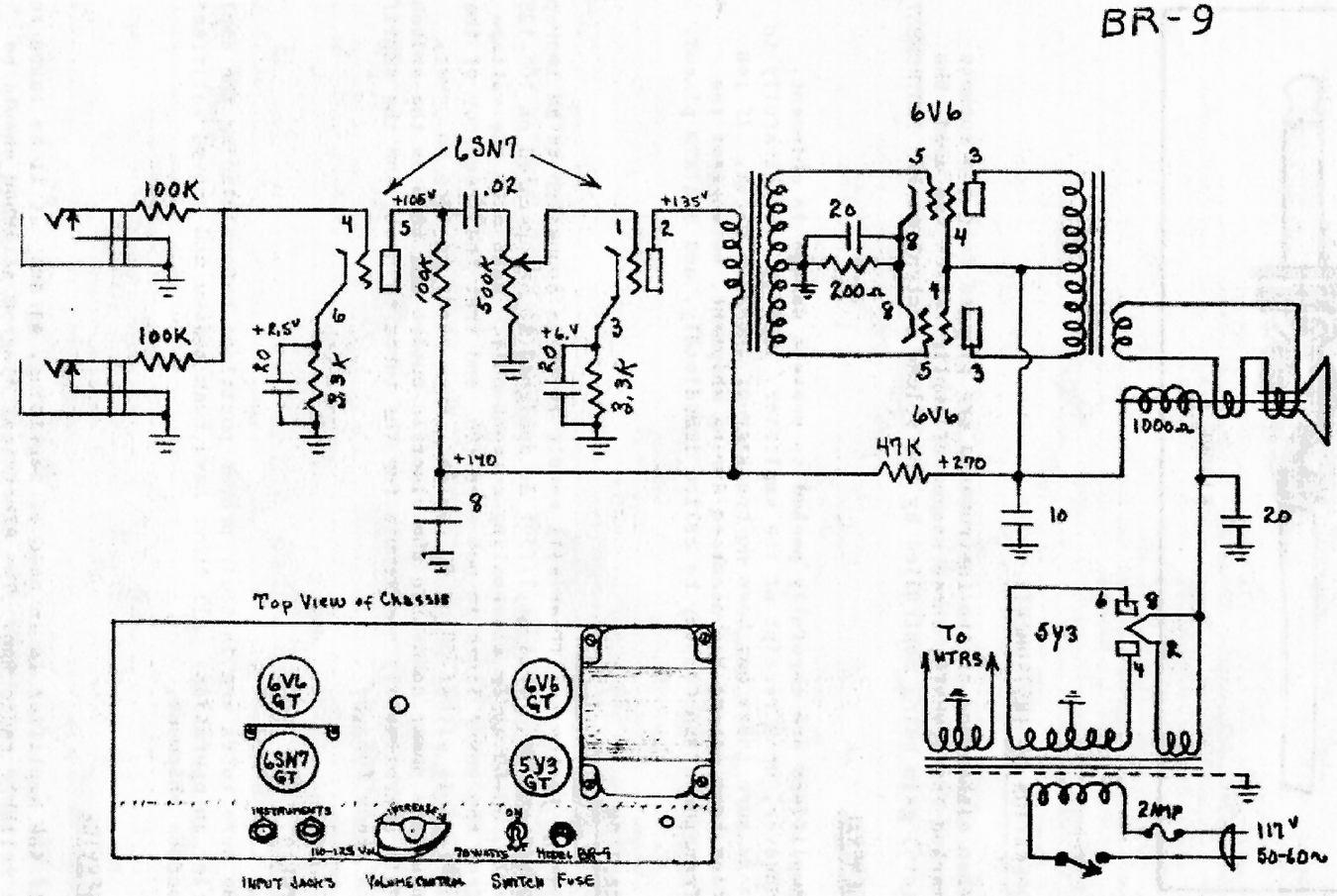 Gibson Falcon Schematic Best Wiring Library