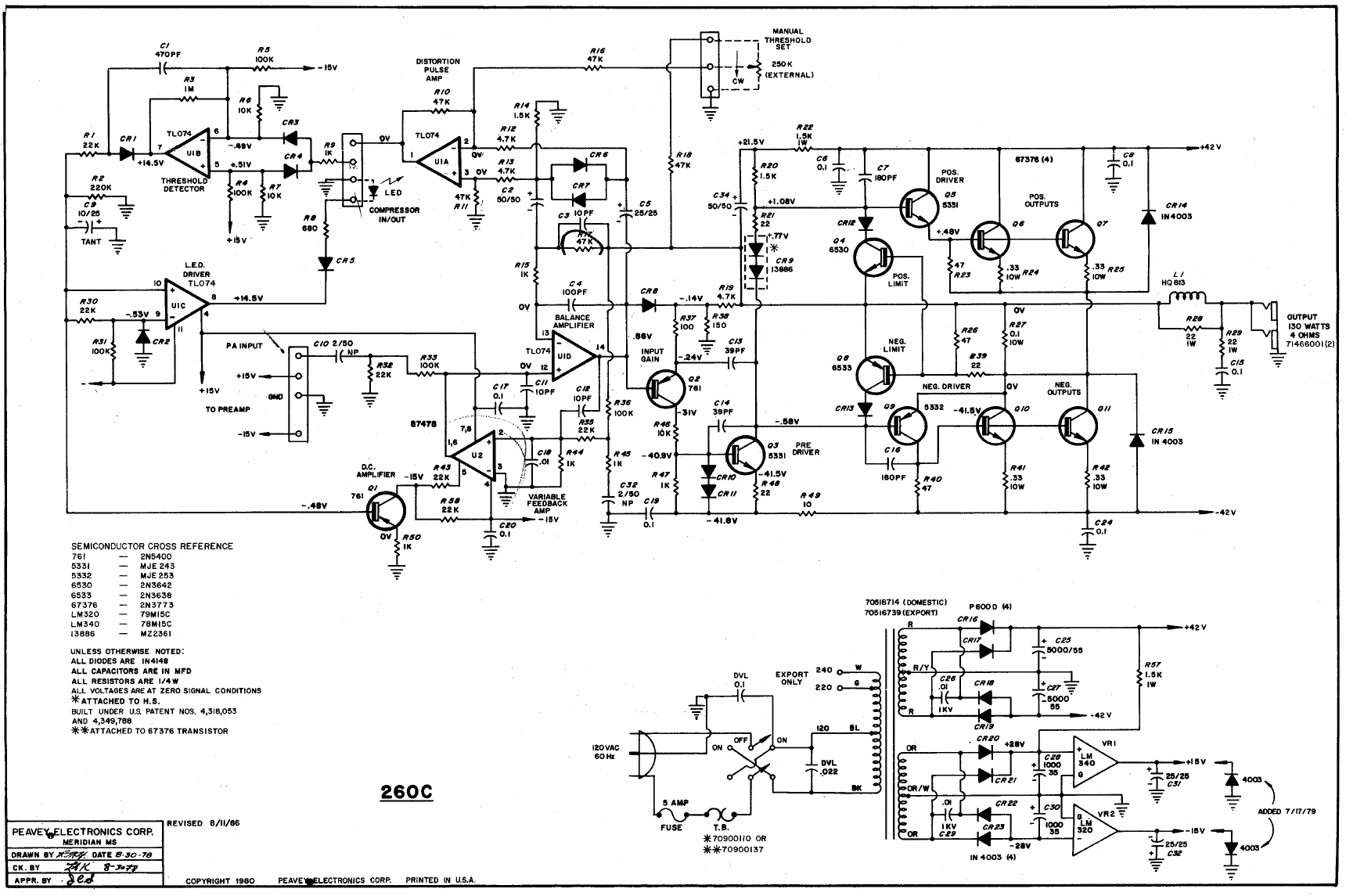 Click image for larger version.  Name:Peavey 260C sch.png Views:24 Size:217.6 KB ID:51547