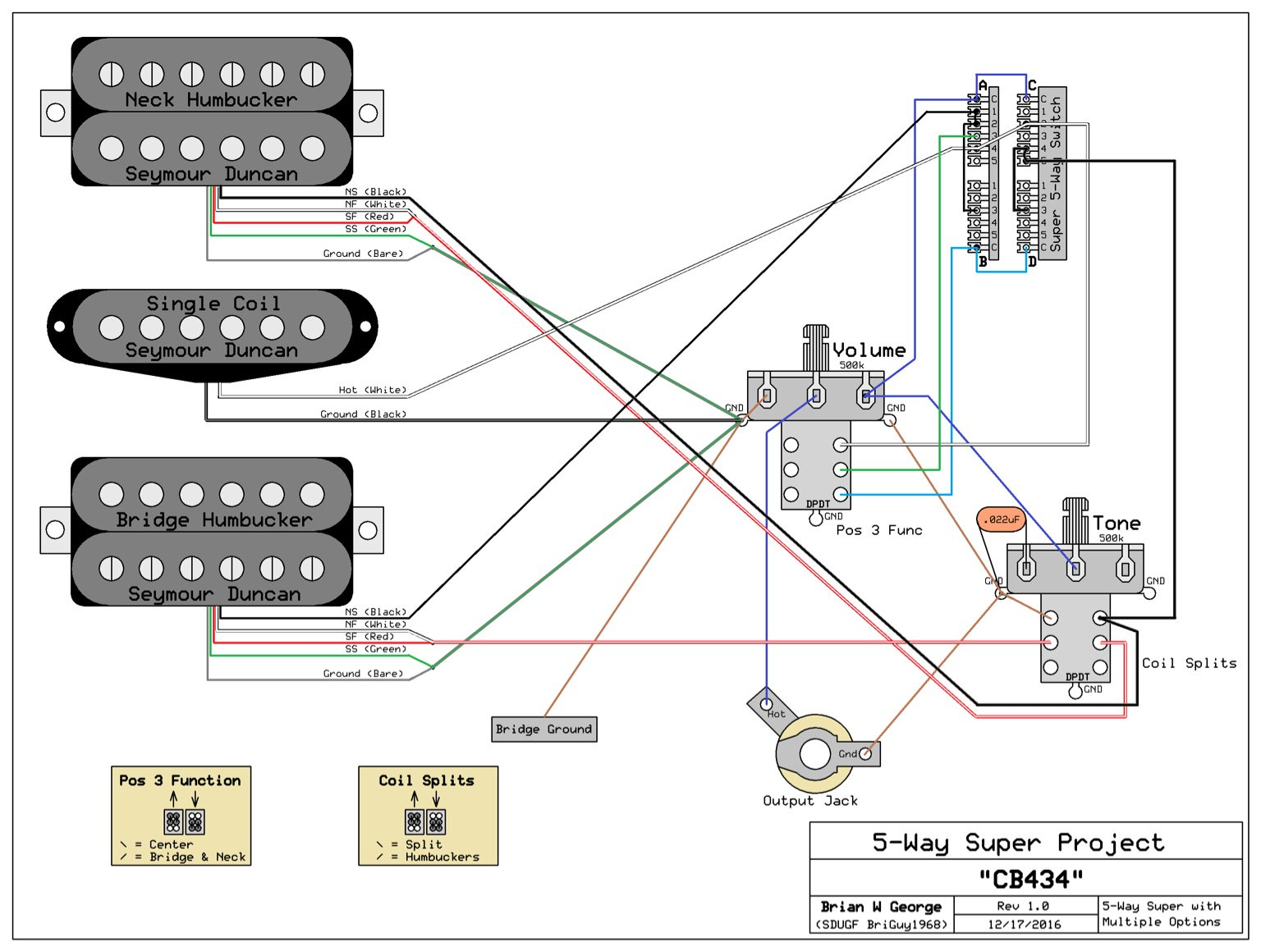 Steve Morse Telecaster Wiring Diagram from music-electronics-forum.com