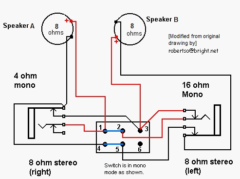 bass cab wiring diagram for 4 speakers | TalkBass.com | Bass Cabinet Wiring Diagrams |  | TalkBass.com