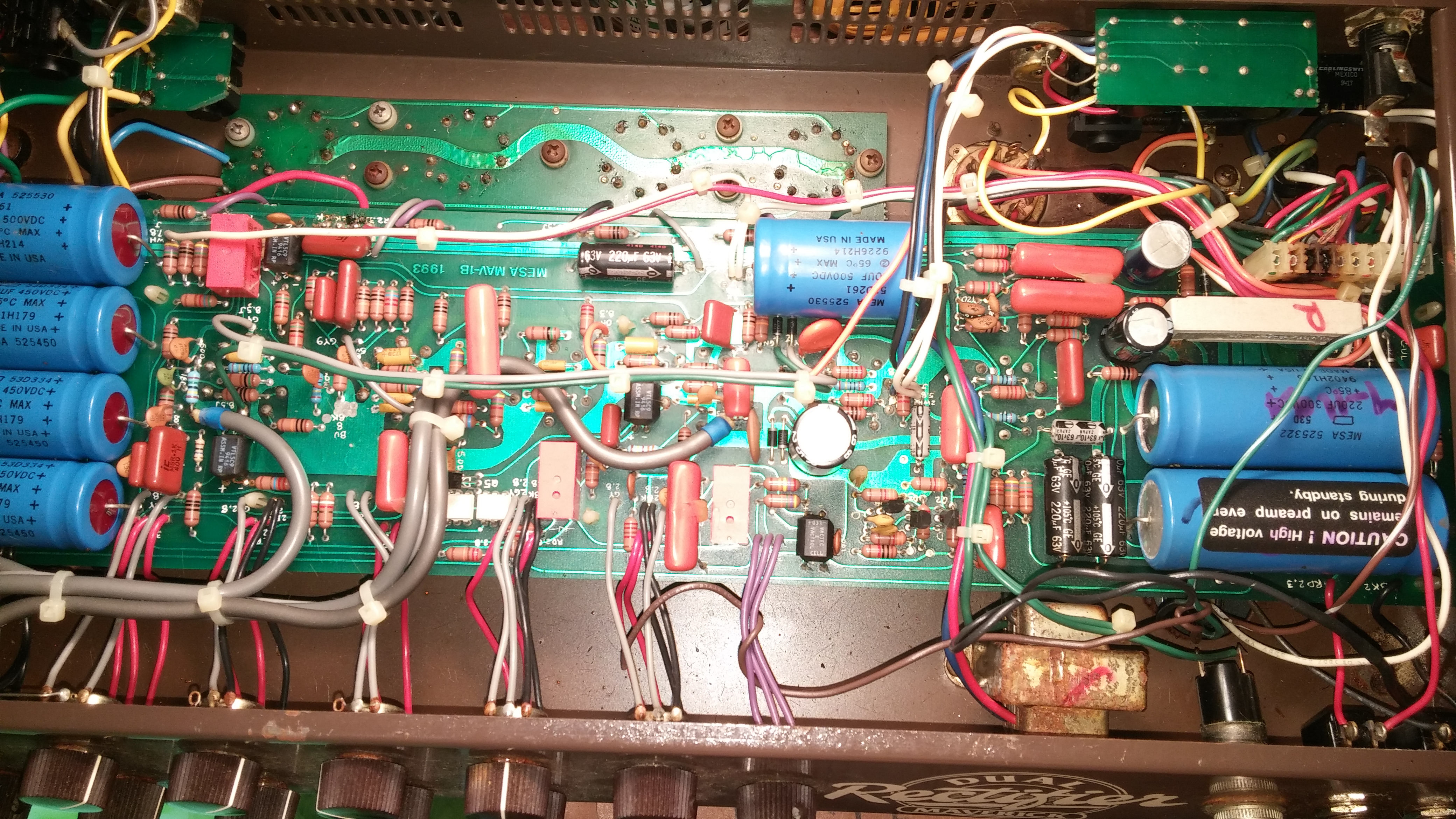 Help With Mesa Boogie Maverick Dual Rectifier Head Many Parts Of Solo Schematic Diagram Click Image For Larger Version Name Maverick2small Views 1144 Size