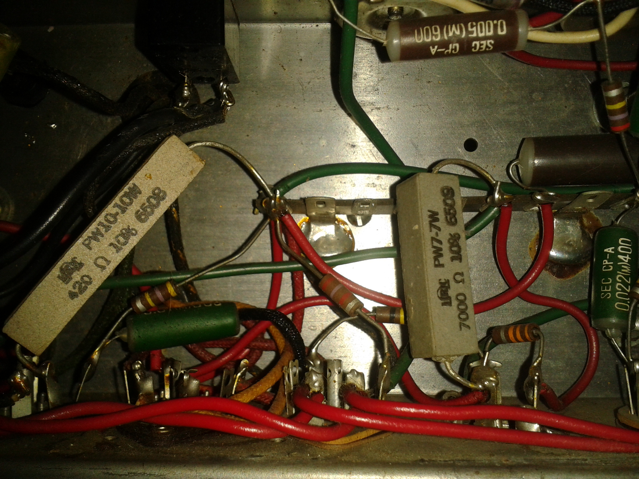 Help Unknown Vintage Canadian Tube Amp 60 Fuse Box Click Image For Larger Version Name 2016 02 04 144649
