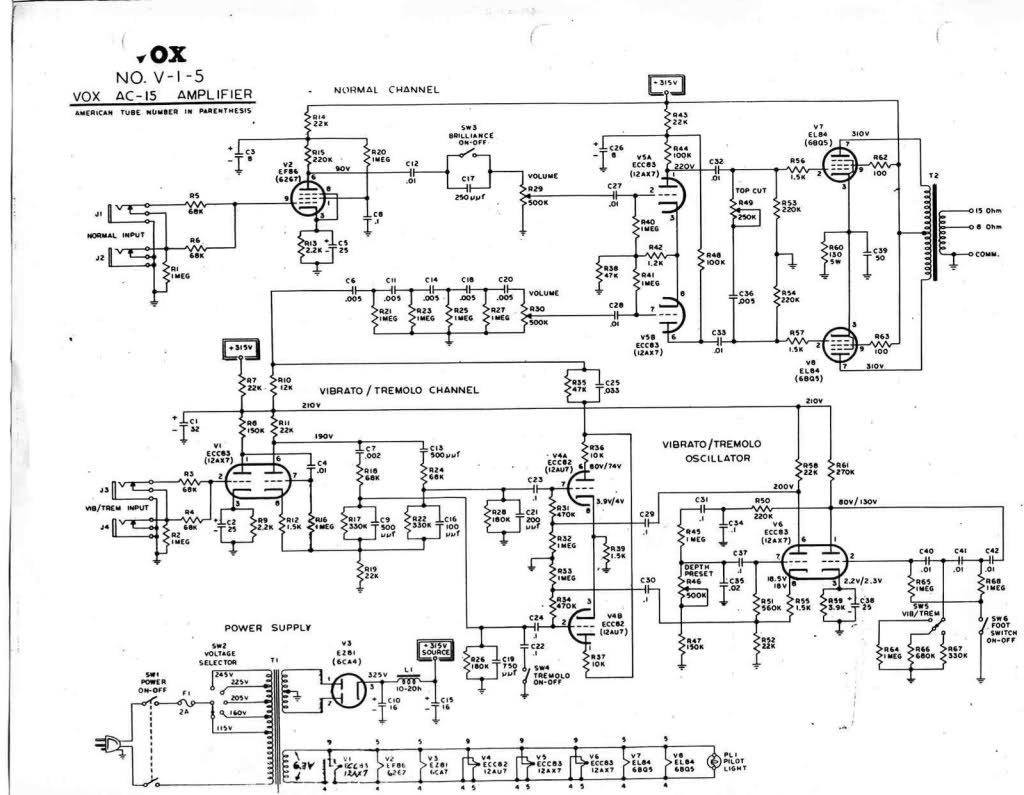 [DHAV_9290]  96AF Ac 15 Amp Schematic Wiring | Wiring Library | Vox Wiring Diagram |  | Wiring Library