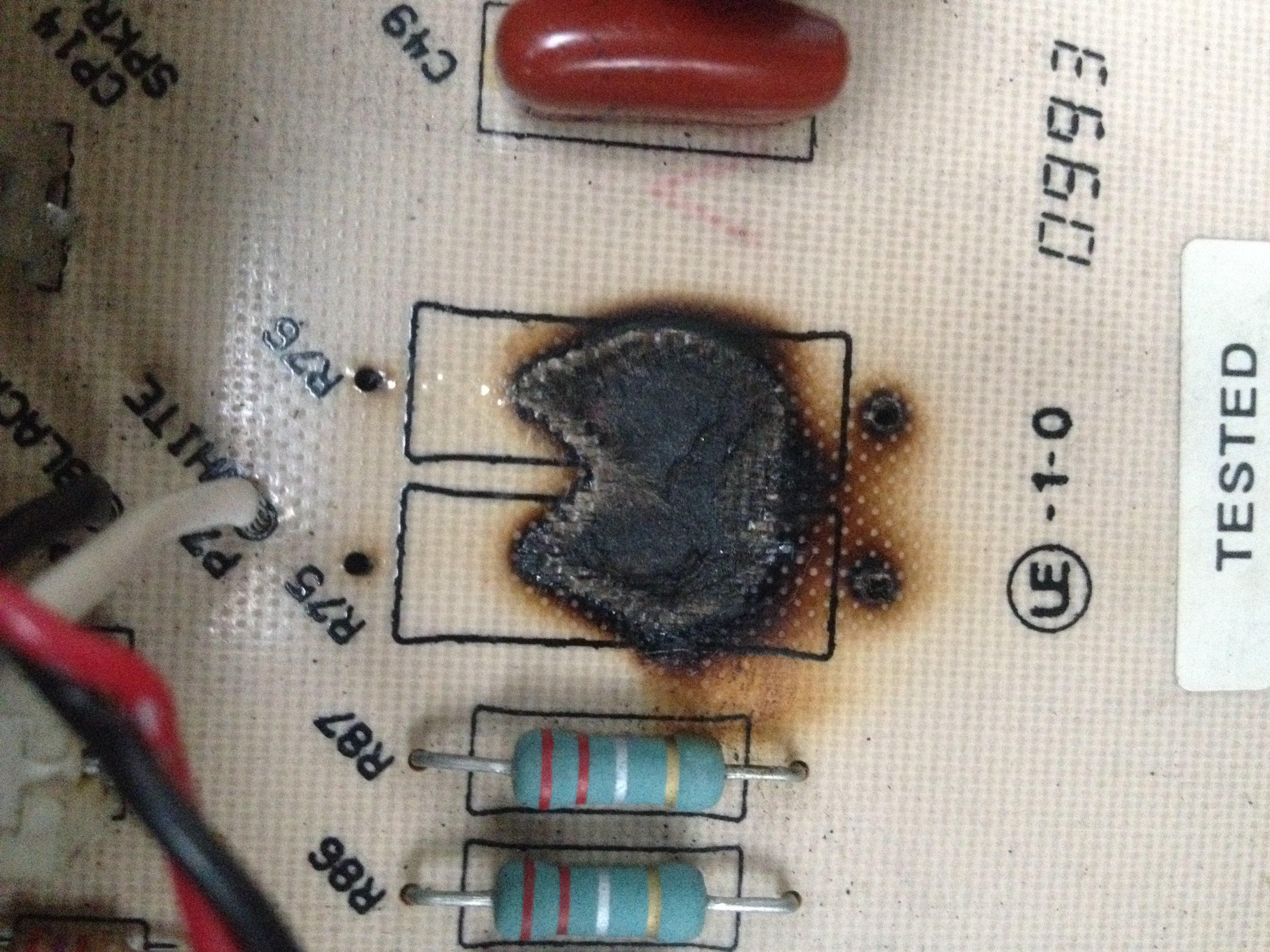 Fender Stage 112 repair - how to tackle burnt PCB on