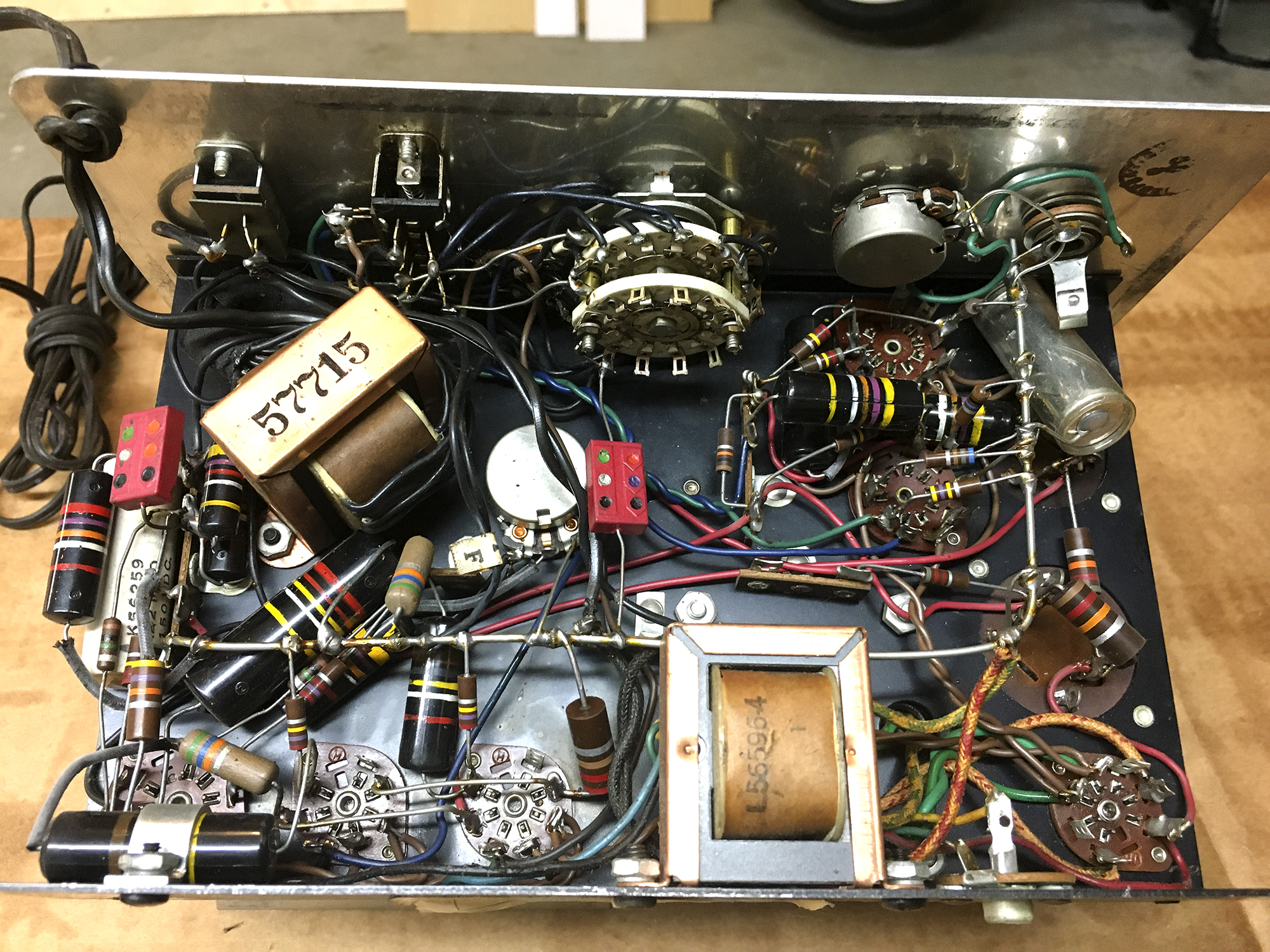 Click image for larger version.  Name:Conn Vacuum Tube StroboTuner components-2.jpg Views:34 Size:2.32 MB ID:56585